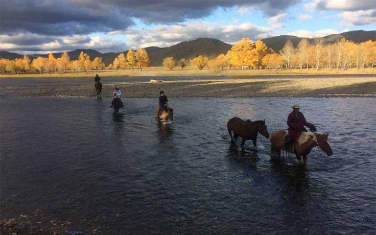 Saraa's Horse Trek Mongolia  | Khentii Trek | 05. Oktober – 11. Oktober 2020