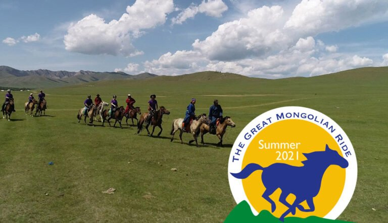 The Great Mongolian Ride 2021 | The longest charity horse ride in the world!